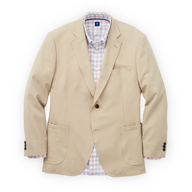 Cotton Blend Blazer-Previous Season Style