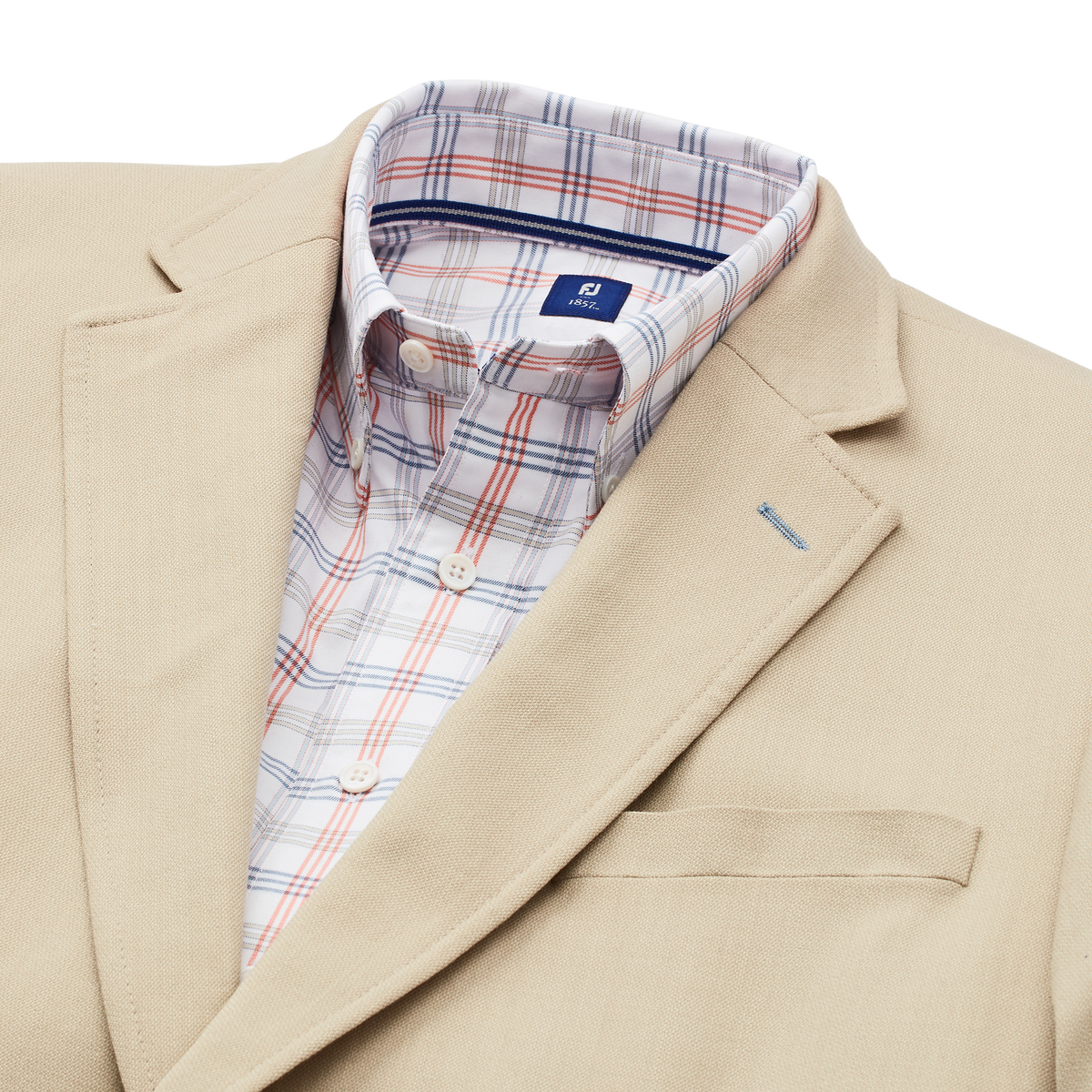 Cotton Blend Blazer-Previous Season Style
