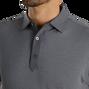 Diamond Line Print Lisle Self Collar