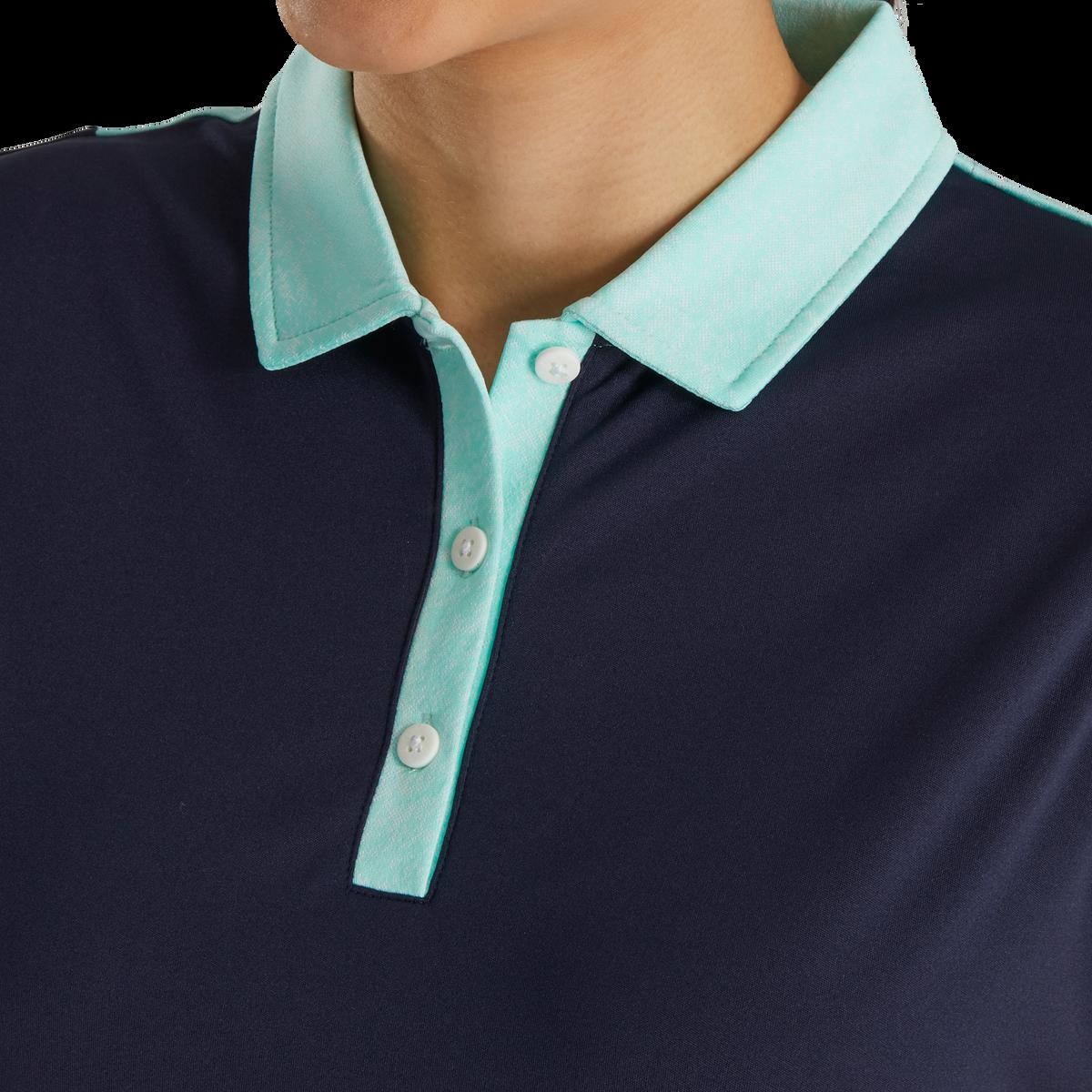 Sleeveless Jacquard Back Shirt Women