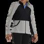 Full-Zip Mini Stripe Mid-Layer Women