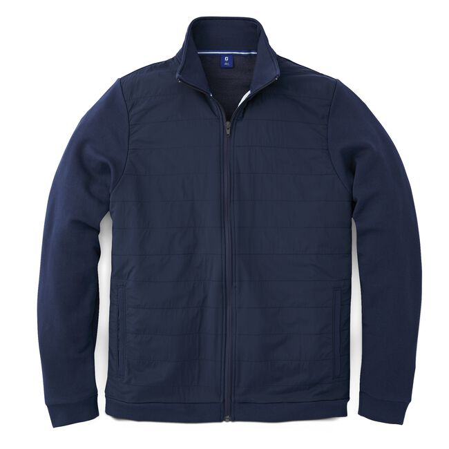Full-Zip Hybrid Jacket-Previous Season Style