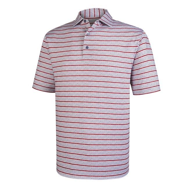 Lisle Space Dye Stripe Self Collar-Previous Season Style