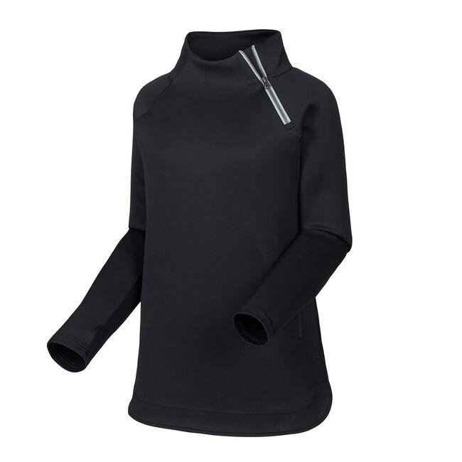 Asymmetrical Zip Neck Mid Layer-Previous Season Style