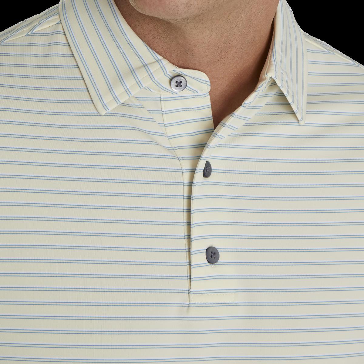 Lisle Classic Stripe Self Collar