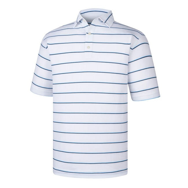 Spun Poly Stripe Self Collar-Previous Season Style