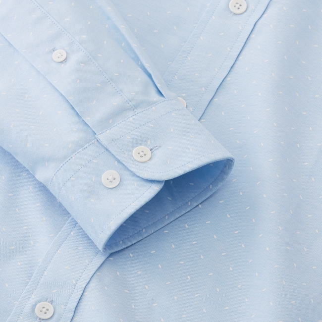 Oxford Shirt with Overprint