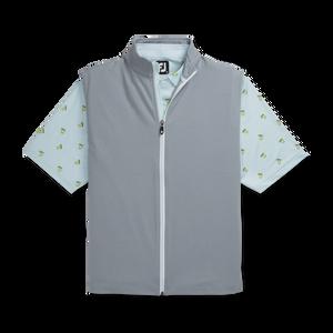 Full-Zip Knit Vest -Previous Season Style