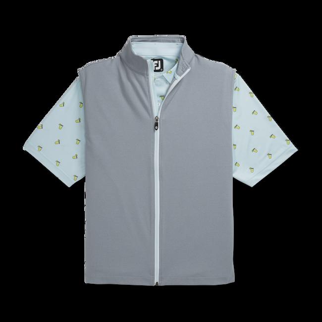 Full-Zip Knit Vest