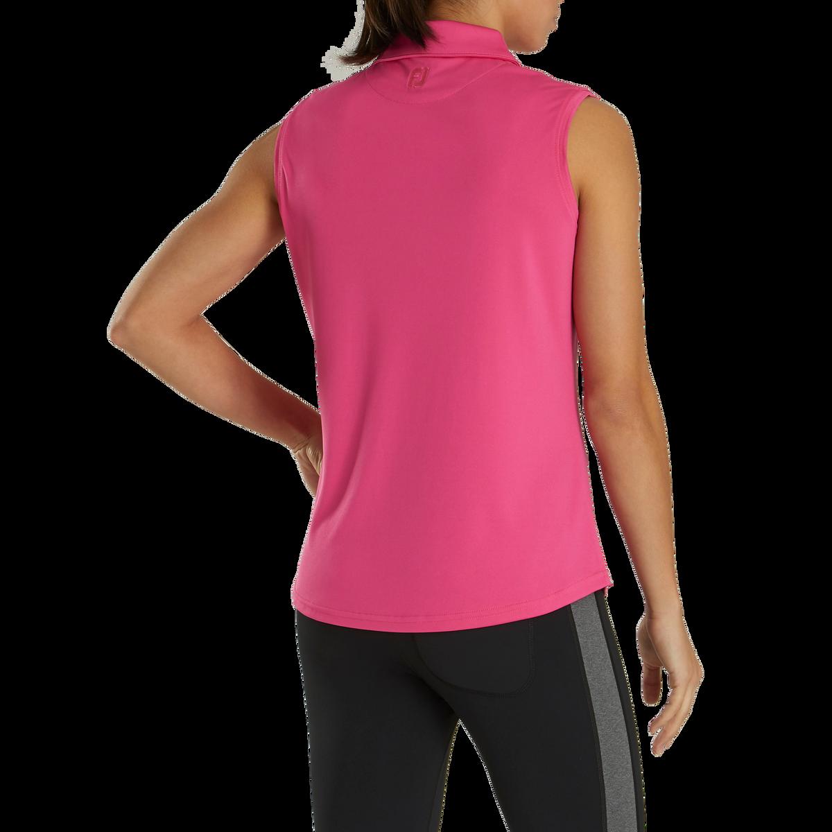 ProDry Interlock Sleeveless Shirt Self Collar Women-Previous Season Style