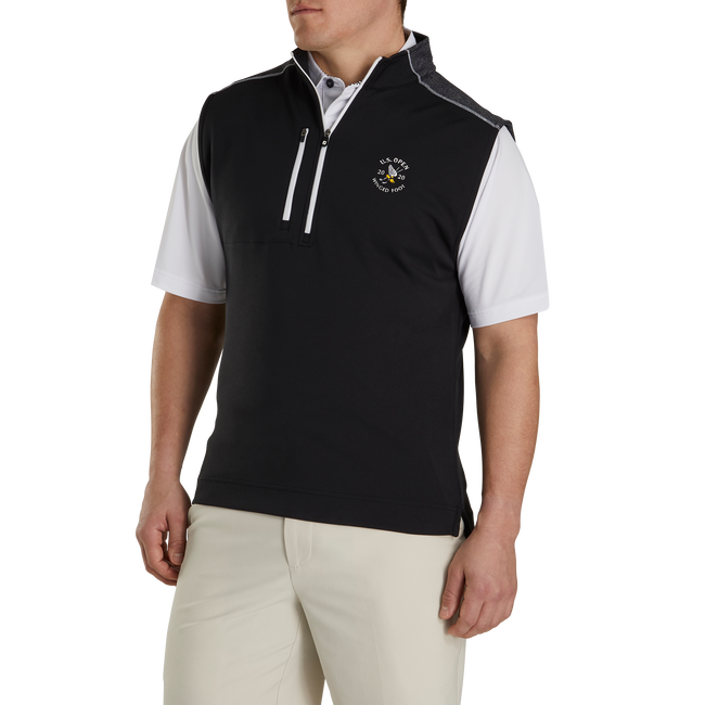 2020 U.S. Open Half-Zip Heather Blocked Vest