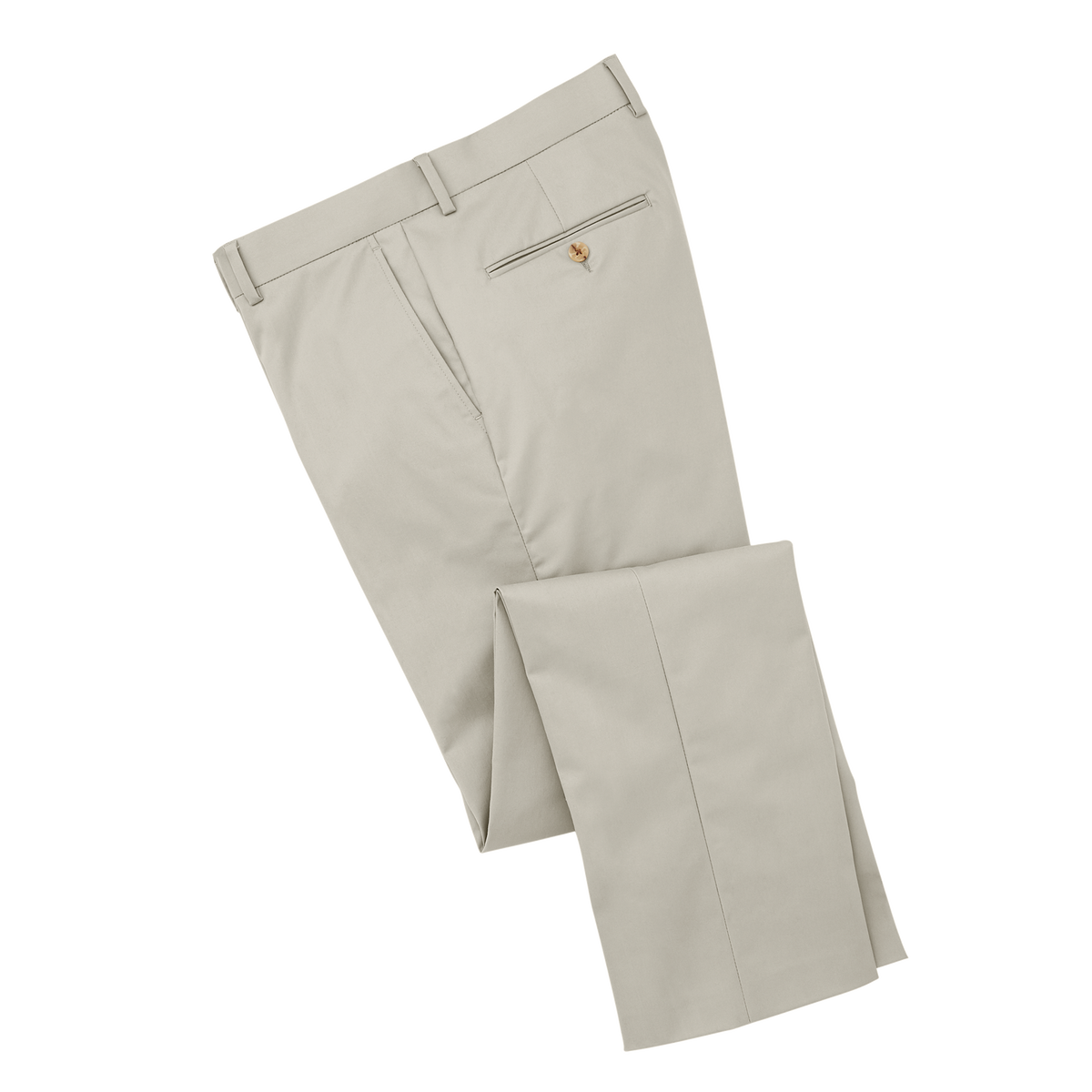 Sueded Cotton Twill Trousers
