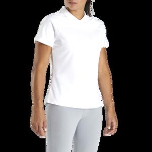 Pique Back-Zip Shirt Women-Previous Season Style