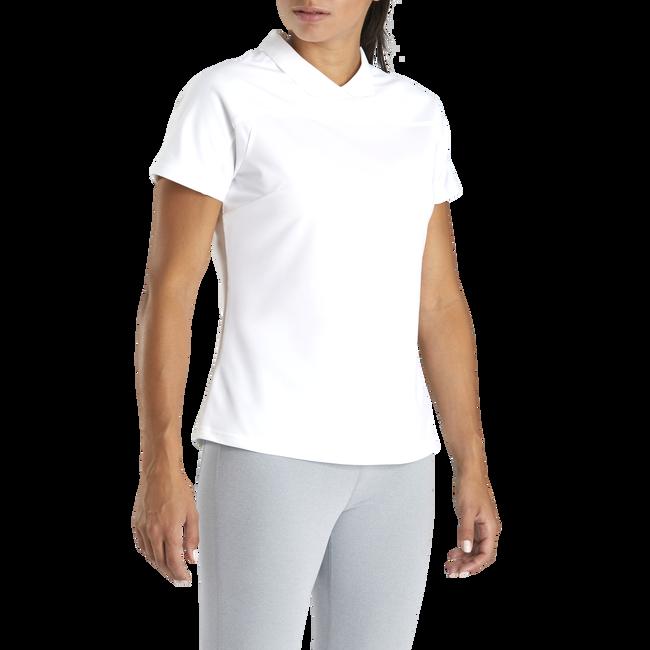 Pique BackZip Shirt Women