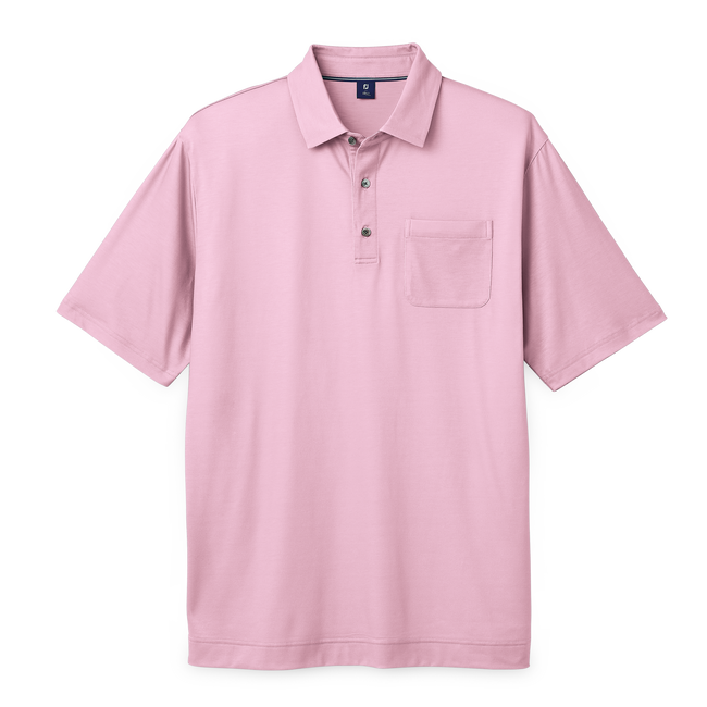 Pima Lisle+Chest Pocket Shirt