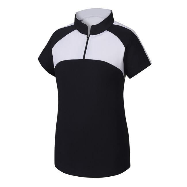 Jersey Mesh Raglan Sleeve Shirt Women-Previous Season Style