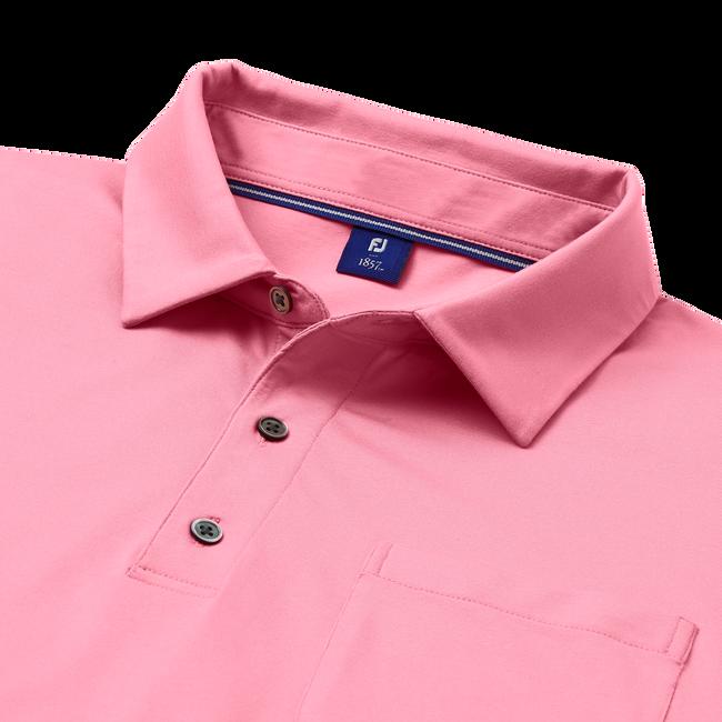 Supima Cotton Knit Shirt with Pocket-Previous Season Style