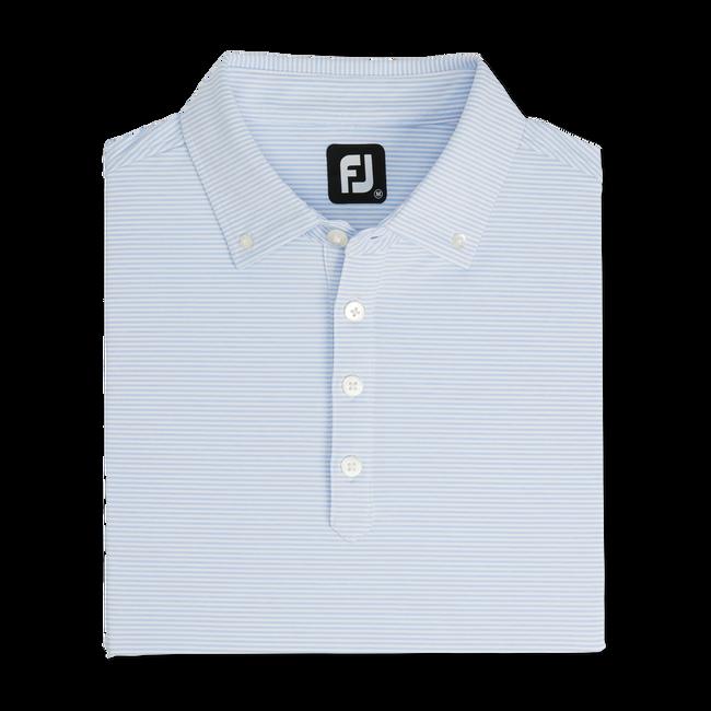 Feeder Stripe Lisle Buttondown Collar