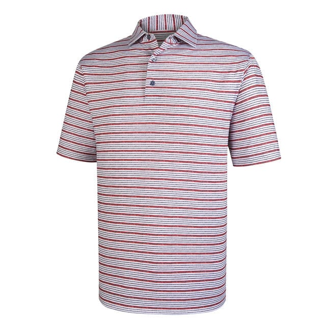Lisle Space Dye Stripe Self Collar
