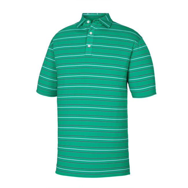 Lisle Outlined Stripe Self Collar