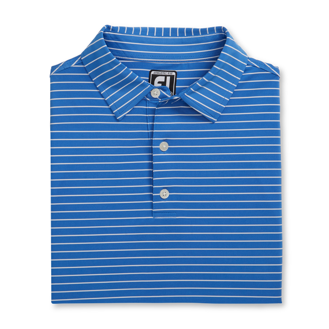 Athletic Fit Classic Stripe Self Collar