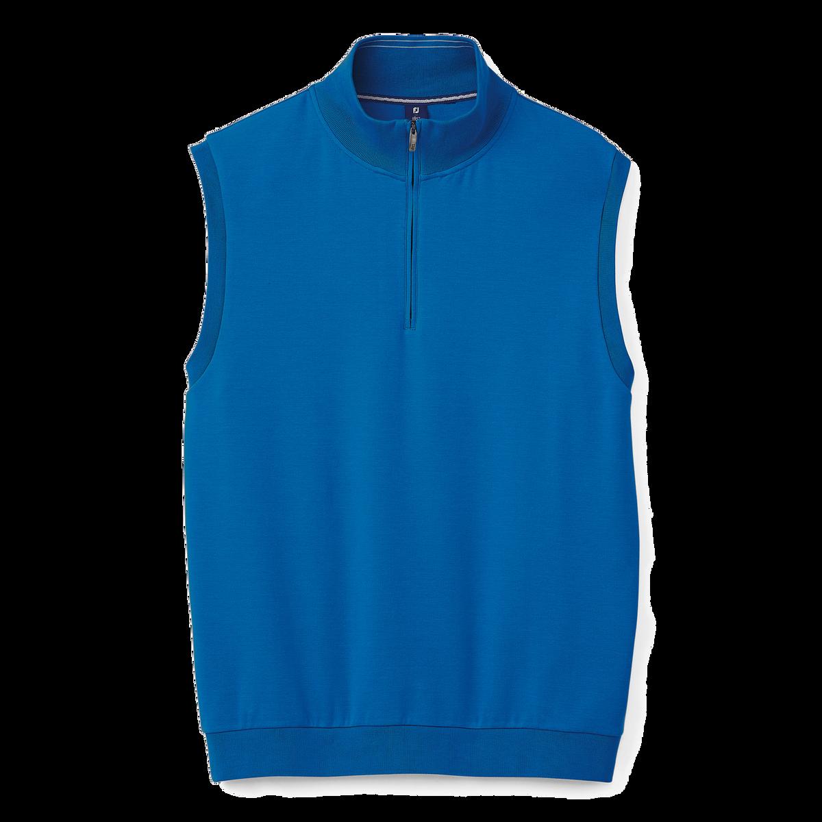 Interlock Quarter-Zip Vest-Previous Season Style