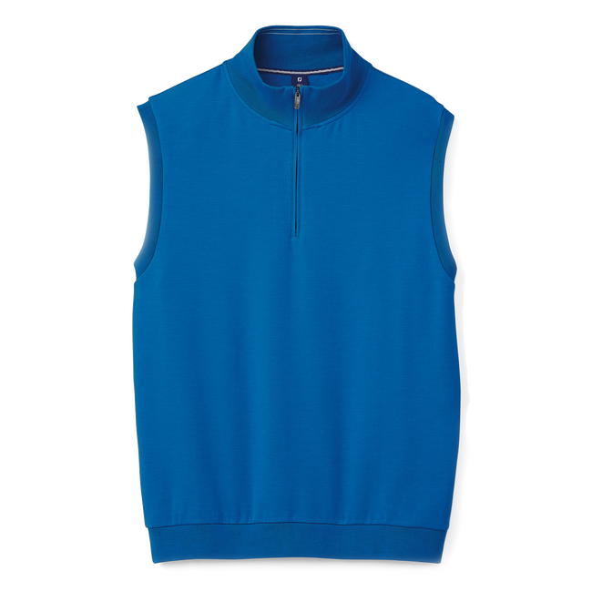 Interlock Quarter-Zip Vest-Previous Season Style