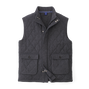 Quilted Full Zip Vest-Previous Season Style