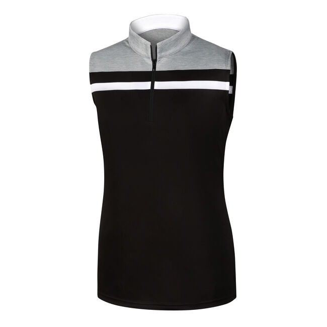 Interlock Color Block Sleeveless Women-Previous Season Style
