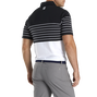 Lisle Engineered Stripe Self Collar-Previous Season Style