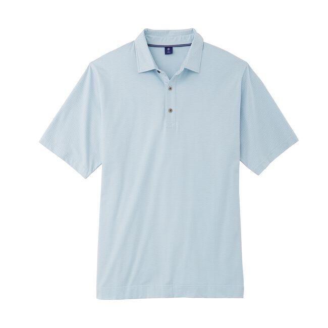 Pima Lisle Feeder Stripe Shirt