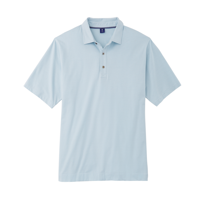 Pima Lisle Feeder Stripe Shirt