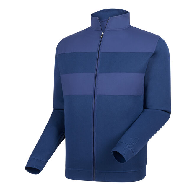 Flat Back Rib Full-Zip Mid-Layer