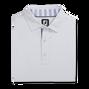Solid Pique with Stripe Trim Self Collar-Previous Season Style