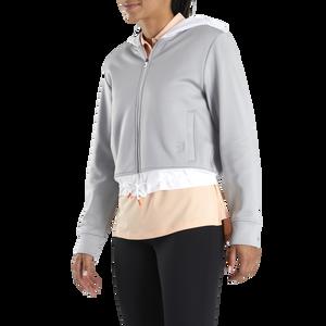 Cropped Fleece Hoodie Women-Previous Season Style