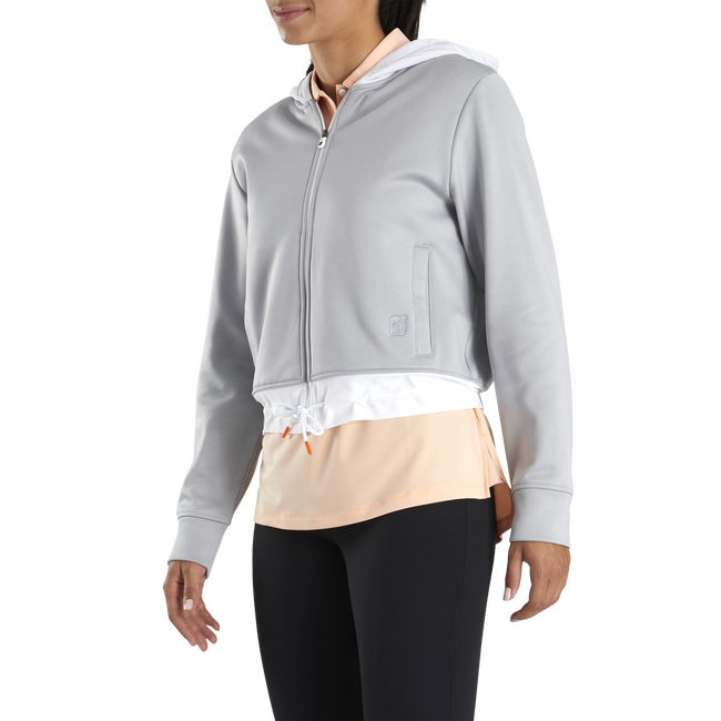 Cropped Fleece Hoodie Women-Previous Season Style