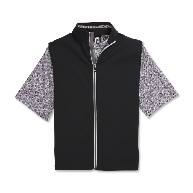 Full-Zip Knit Vest