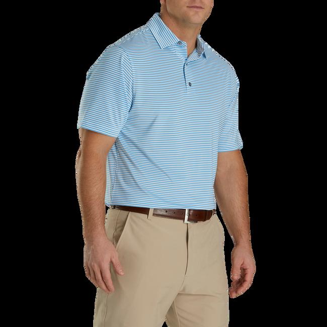 Lisle Feeder Stripe Self Collar