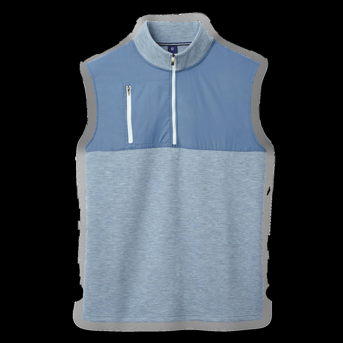 Half-Zip Hybrid Vest