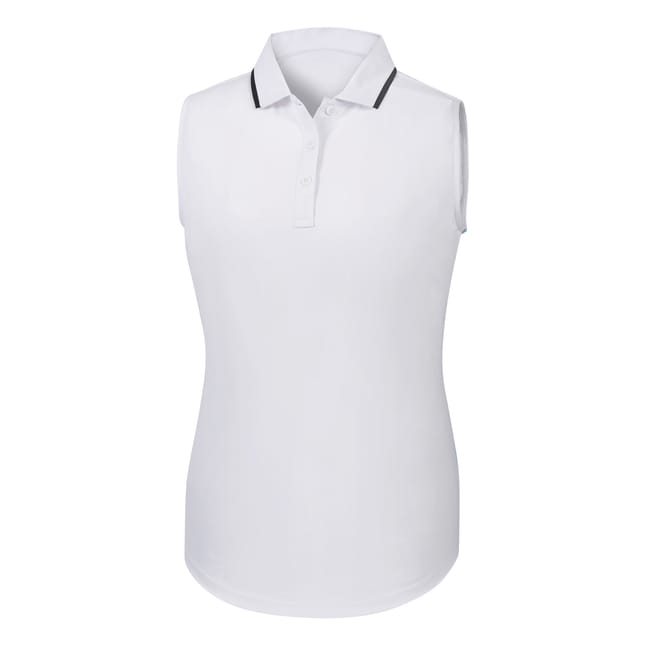 Sleeveless Lisle Shirt Women-Previous Season Style