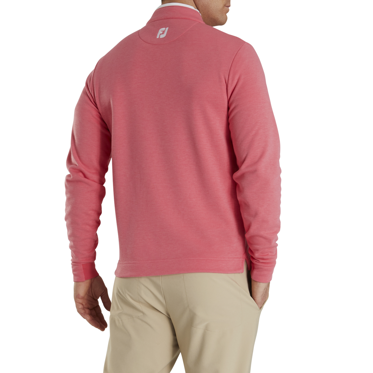 Fleece Quarter-Zip Contrast Trim