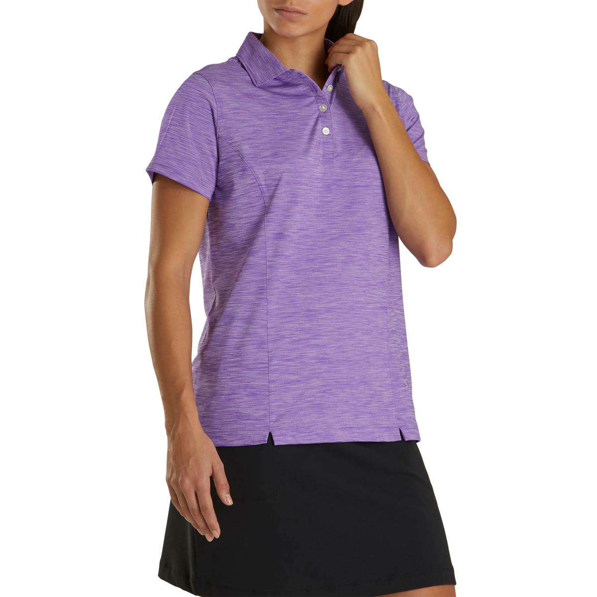 ProDry Interlock Shirt Self Collar Women
