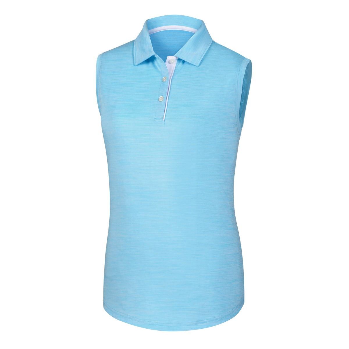 ProDry Interlock Sleeveless Shirt Self Collar Women-Previous Season Style