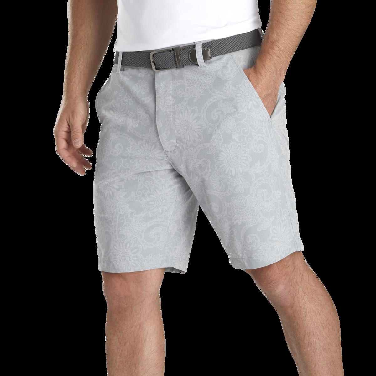 Lightweight Batik Print Shorts
