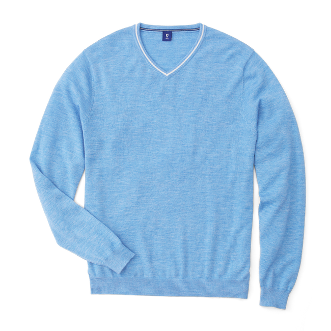 Cashmere V-Neck Sweater-Previous Season Style