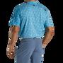 2021 U.S. Open Stretch Lisle Print Self Collar