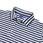 Pima Lisle Sporty Stripe with Pocket