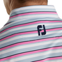 Lisle Multi Stripe Self Collar