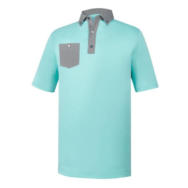 Athletic Fit Birdseye Jacquard Buttondown Collar-Previous Season Style
