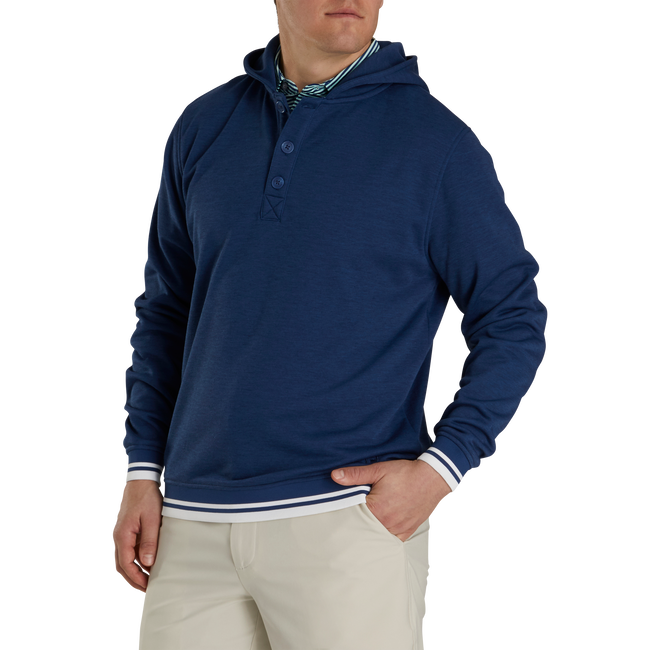 Jersey Fleece Backed Hoodie
